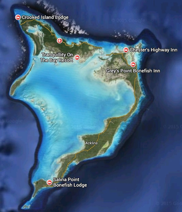 Crooked Island properties for sale and Acklins Island realty for sale