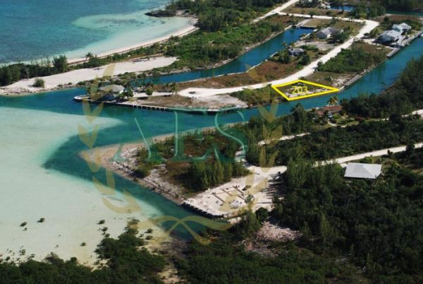 CANAL LOT IN THE BAHAMAS CHEAP